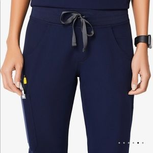 Sold - 2 pairs Figs M/T navy kade pants